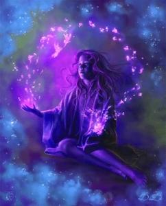 Magic in hands