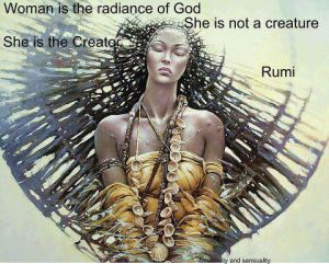 Woman radiance