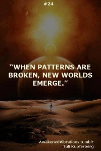 Breaking patterns