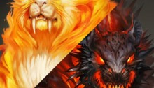 Fire Lion duality