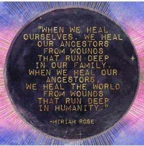 Heal Us, Ancestors, world